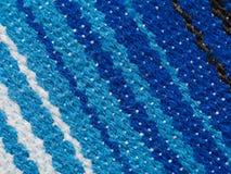 Tela pelada - poncho mexicano, detalle 1 Imagen de archivo libre de regalías
