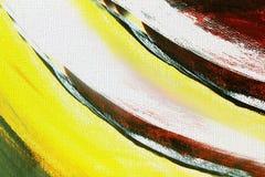 Tela pintada de la textura de la lona de arte como fondo fotos de archivo