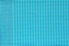Tela quadriculado da cor dos azuis celestes Foto de Stock