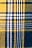 Tela quadriculado tradicional Fundo textured sumário Imagem de Stock