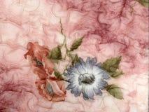 Tela rosada Fotografía de archivo