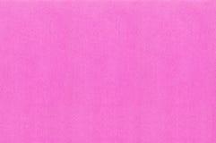 Tela rosada del color Foto de archivo