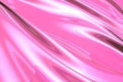 Tela rosada sedosa Imagenes de archivo