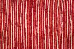 Tela sewing da laranja, a bege e a vermelha Fotos de Stock