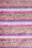 Tela tailandesa colorida del taparrabos Fotos de archivo