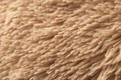 Tela Teddy Bear Texture do cabelo do ouro Imagens de Stock