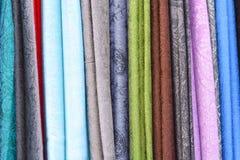 Tela Textured Fotos de Stock