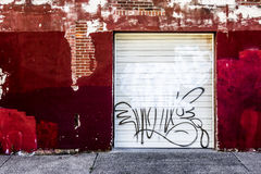 Tela urbana Fotografia Stock