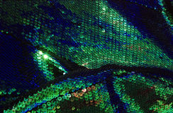 Tela verde 03 da escala de peixes Imagens de Stock Royalty Free
