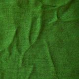 Tela verde Imagens de Stock Royalty Free