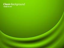Tela verde Fotos de archivo libres de regalías