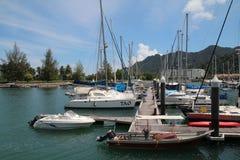Telaga-Hafen-Jachthafen Lizenzfreies Stockfoto