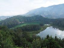 Telaga Warna Dieng plateau Obraz Royalty Free