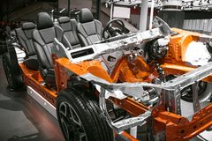Telai dell'automobile immagini stock libere da diritti