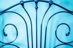 Telaio del letto decorativo del metallo Immagini Stock Libere da Diritti