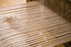 Telaio per tessitura Fotografie Stock