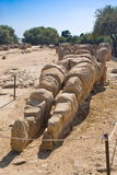 Telamon in the Olympeon field, Agrigento Stock Photography