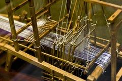 Telar chino antiguo Imagen de archivo libre de regalías