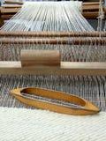 Telar de alfombra rumano Fotos de archivo libres de regalías