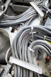 Telar viejo del cable Foto de archivo libre de regalías