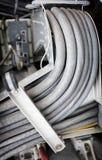 Telar viejo del cable Fotografía de archivo