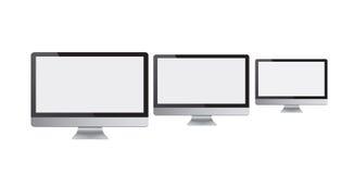 Telas de computador ilustração royalty free