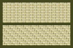 Telas de la lona de lino Foto de archivo