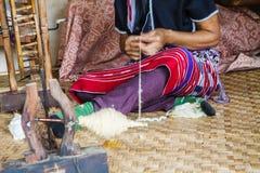 Telas de lanas Fotografía de archivo