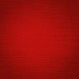 Telas de lino rojas Foto de archivo