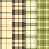 Telas escocesas Imágenes de archivo libres de regalías
