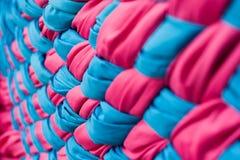 Telas feitas malha. Foto de Stock