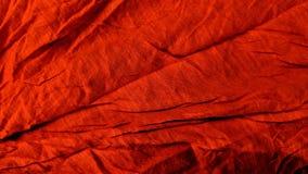 Telas rojas arrugadas stock de ilustración