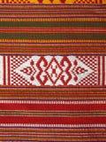 Telas tejidas tailandesas Fotografía de archivo libre de regalías
