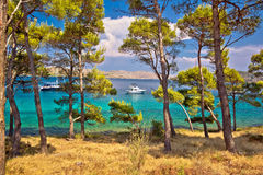 Telascica bay nature park yachting destination Royalty Free Stock Image
