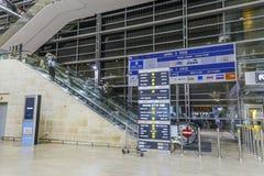 Telavive - airoport - 21 de julho - Israel, 2014 Imagens de Stock