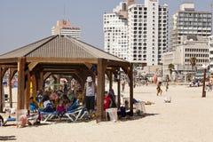 Verão na praia em Telavive Fotos de Stock