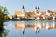 Telc. Is town in Unesco, Czech Republic Royalty Free Stock Photo