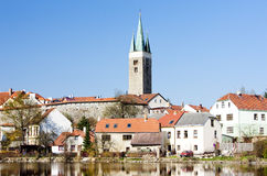 Telc. View of Telc, Czech Republic Royalty Free Stock Images