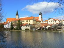 UNESCO Town of Telc Stock Photography