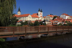 Telc castle Royalty Free Stock Photos