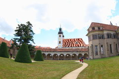 Telc Castle, Czech Republic Royalty Free Stock Photography
