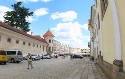 Telc Castle, Czech Republic royalty free stock image
