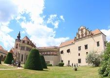 Telc Castle, Czech Republic royalty free stock photos