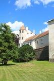 Telc Castle, Czech Republic royalty free stock photography