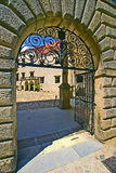 Telc castle 04 Royalty Free Stock Photo