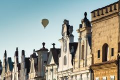 Telc city, Czech Republic, EU stock image