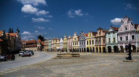 Telc city Royalty Free Stock Photography