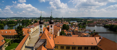Telc city. Stock Photography