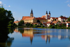 Telc, Czech Republic Royalty Free Stock Photography