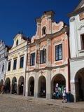 Telc, Czech Republic stock image